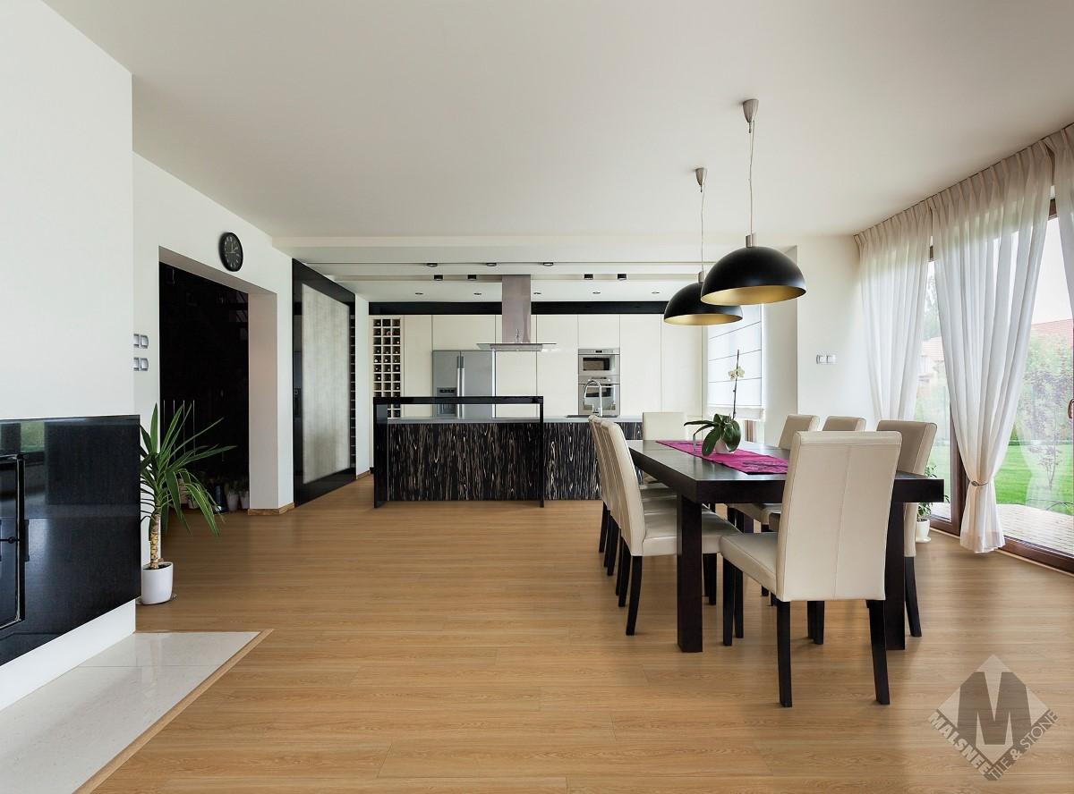 Alexandria Oak Roomscene