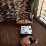 Furnished room for psychological seance