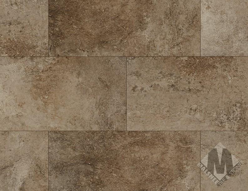 Bronzed Stone Floor Installation