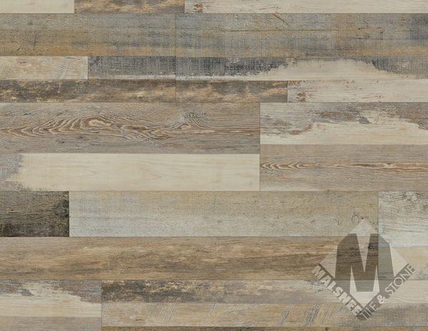 Cabin Oak Floor Installation